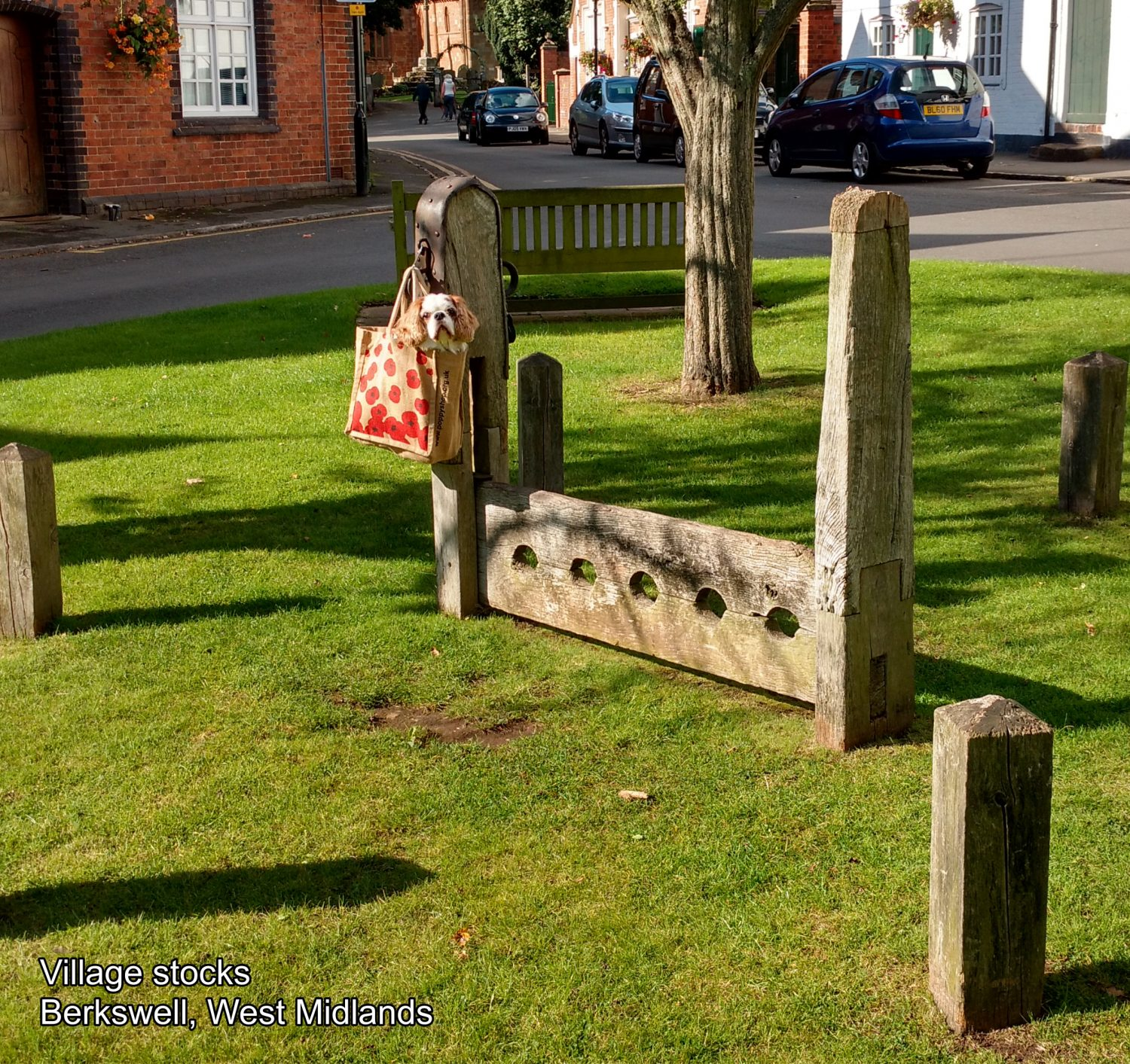 JUNE - Village stocks, Berkswell, West Midlands